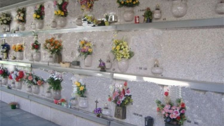 Cartello Morti Cimitero Roma