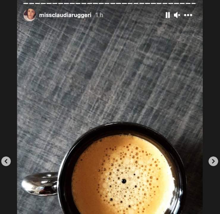Claudia Ruggeri colazione
