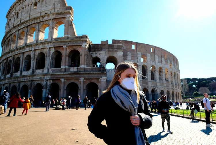 Covid Roma (getty images)