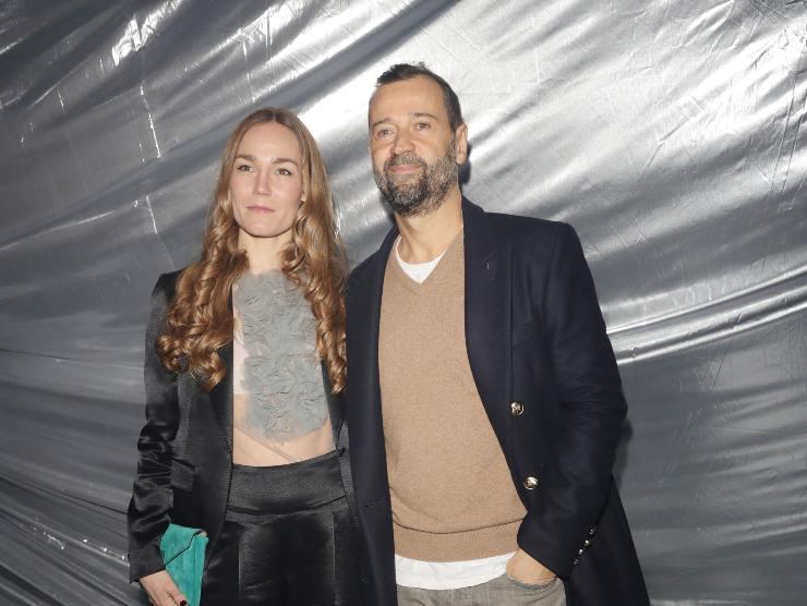 Fabio Volo e la moglie Johanna