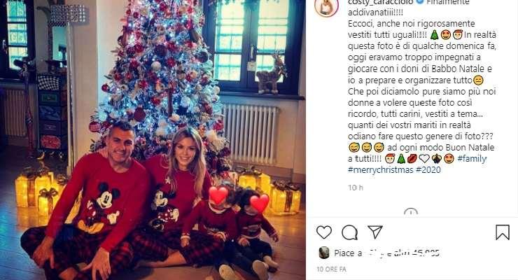 Famiglia Vieri a tema Natale