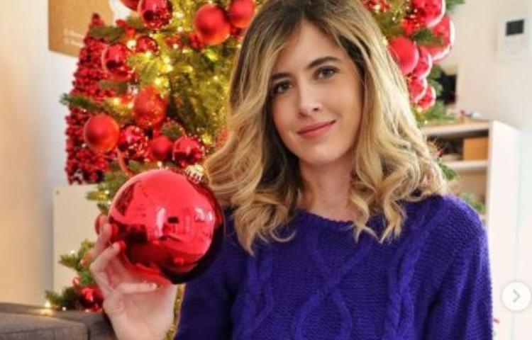 Francesca Ferragni, albero di Natale
