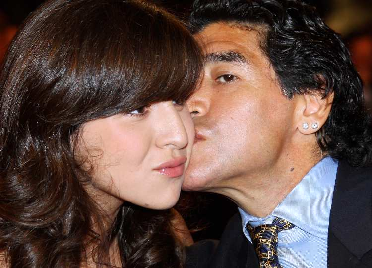 Maradona e Giannina