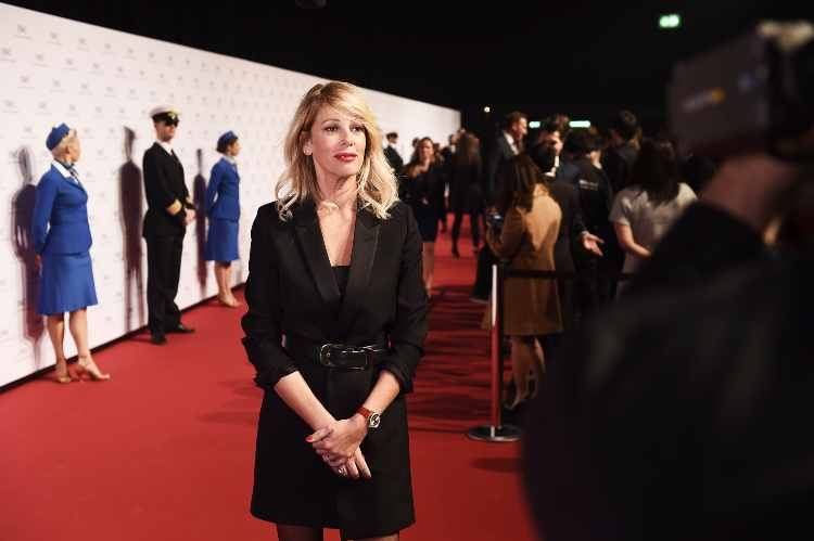 Alessia Marcuzzi (getty images)
