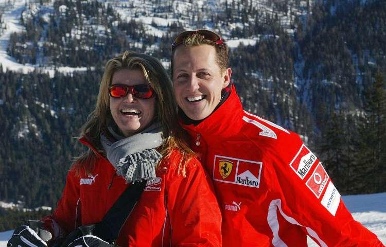 Michael Schumacher e Corinna Betsch (GettyImages)