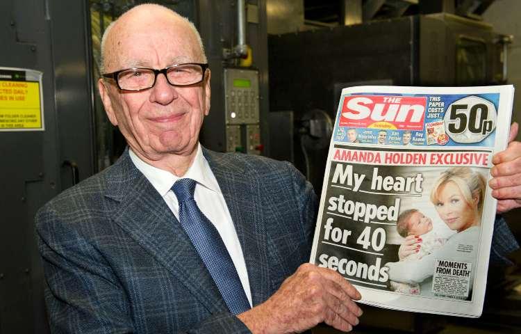 Murdoch, The Sun