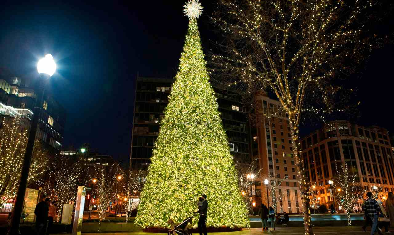 Auguri Natale (getty images)