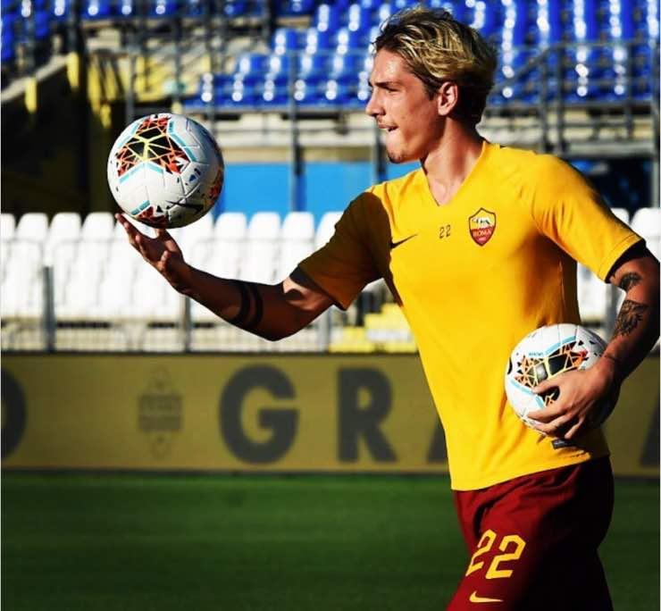 Nicolo Zaniolo Madalina Ghenea