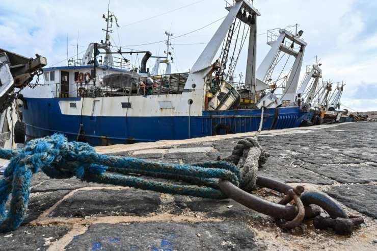 Pescatori liberati mamma