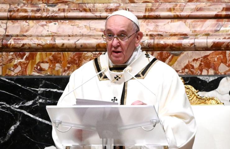 Papa Francesco Messa Capodanno