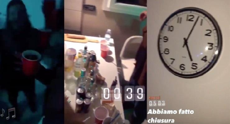 Party segreto infermiere