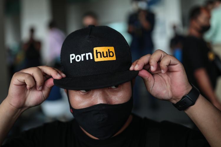 Pornhub (getty images)