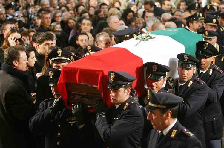 Raciti funerale