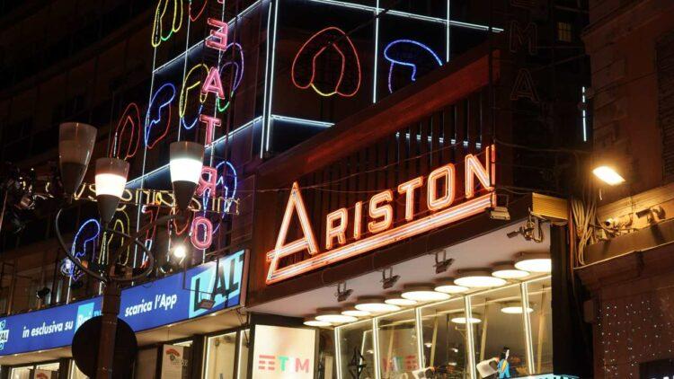 Sanremo 2021 - Teatro Ariston