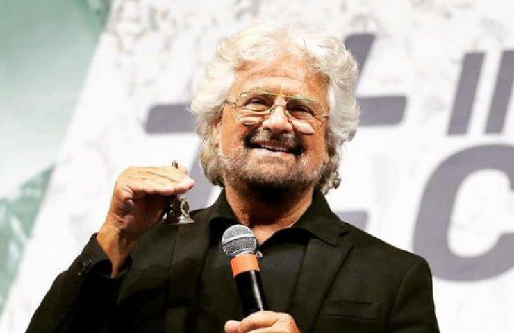 Beppe Grillo  ironie vaccini