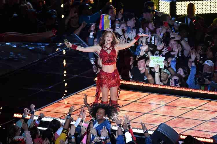 Shakira (getty images)