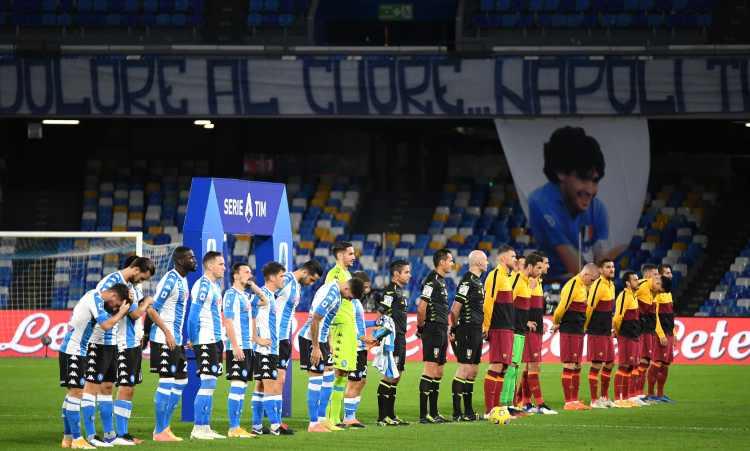 Maradona tributo Napoli