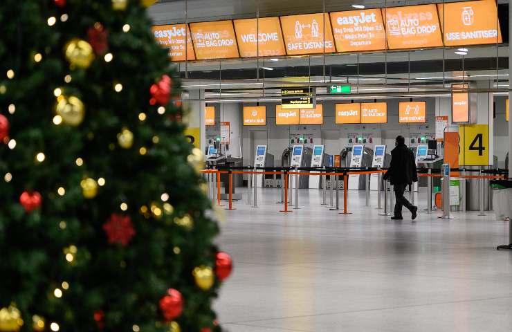 Vacanze Natale, aeroporto