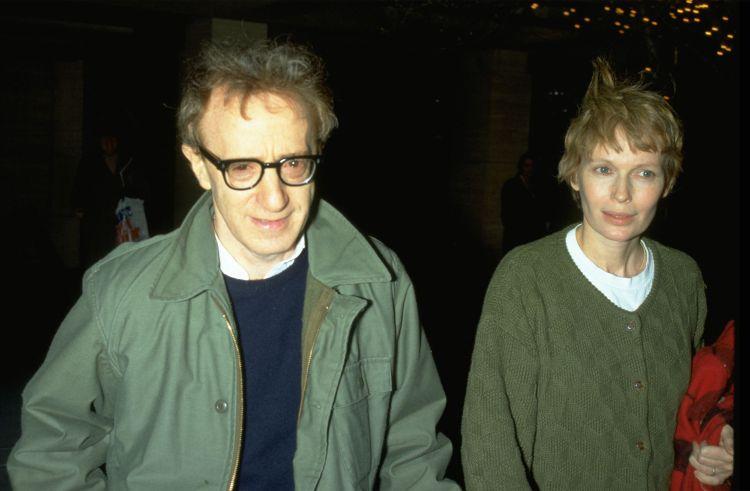 Woody Allen Mia Farrow (getty images)