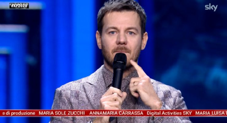X Factor Alessandro Cattelan