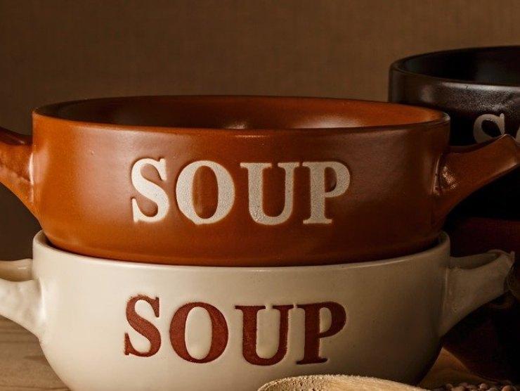 ciotola per zuppa arzilla