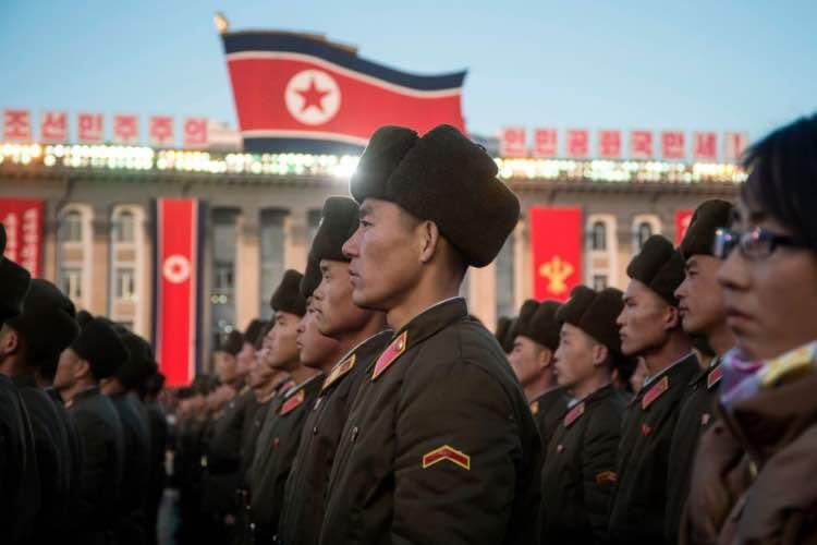 corea esercito fucilazione
