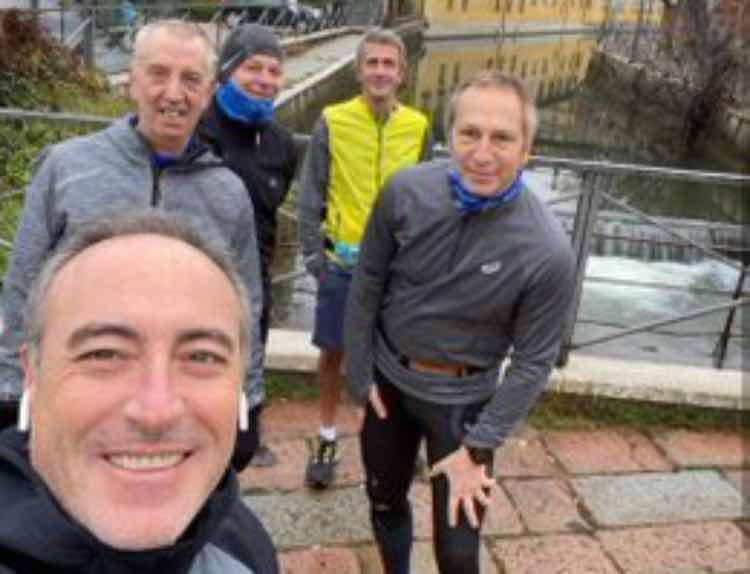 gallera covid jogging