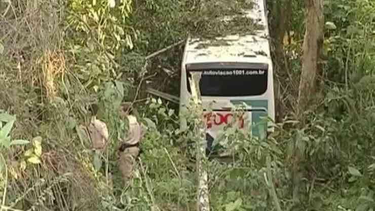 incidente Brasile autobus