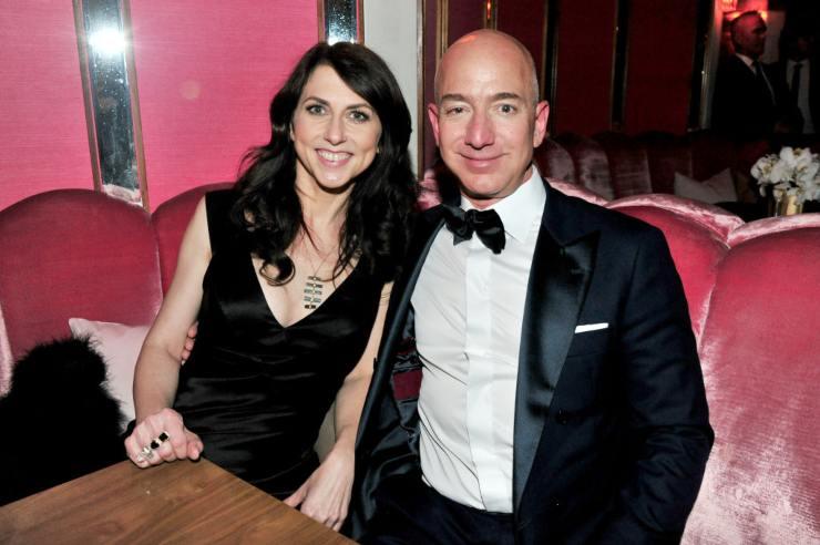 Jeff Bezos moglie Beneficenza