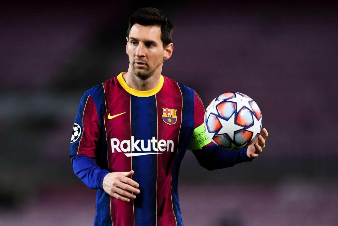 Messi regalo tifoso