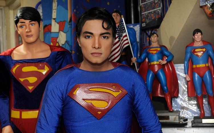 ragazzo superman