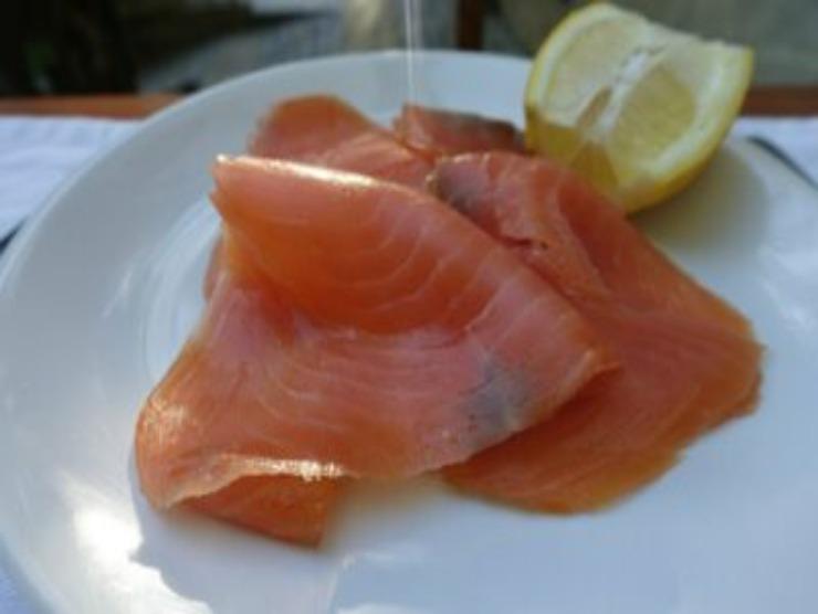 salmone affumicato riso freddo