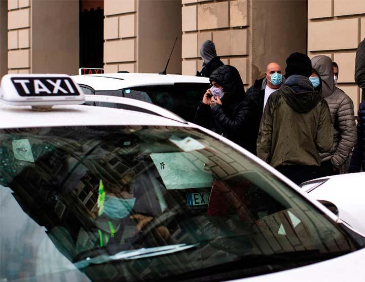 tassista nuovo lavoro