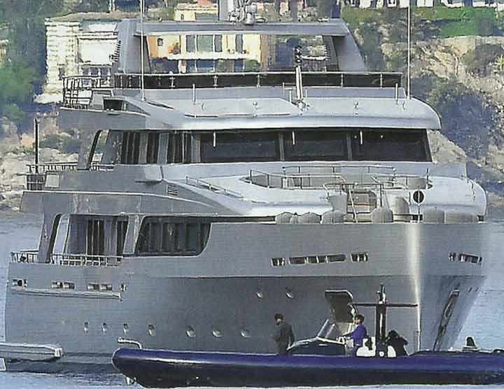 toffanin piersilvio yacht