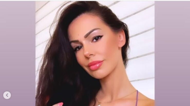 Erjona, modella albanese