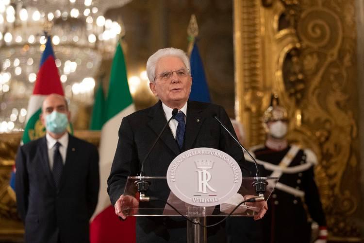 Sergio Mattarella e la crisi di Governo