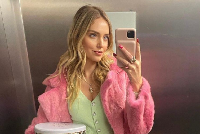 Chiara Ferragni selfie
