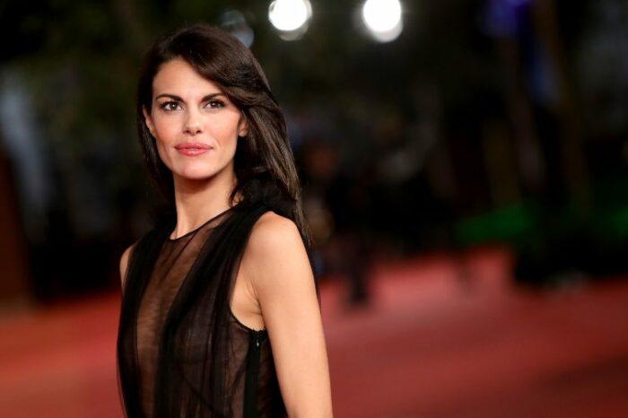 Bianca Guaccero red carpet