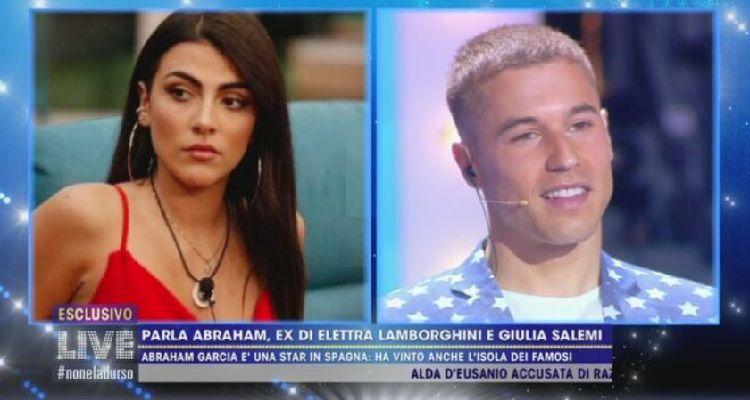 Giulia Salemi e Abraham