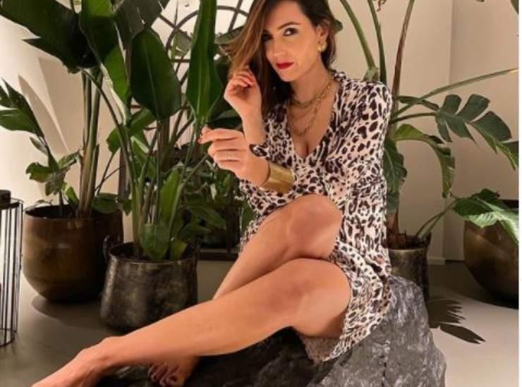 Caterina Balivo gambe