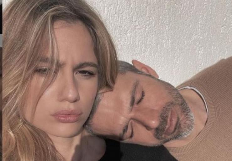 Luca Argentero e Cristina Marino al sole