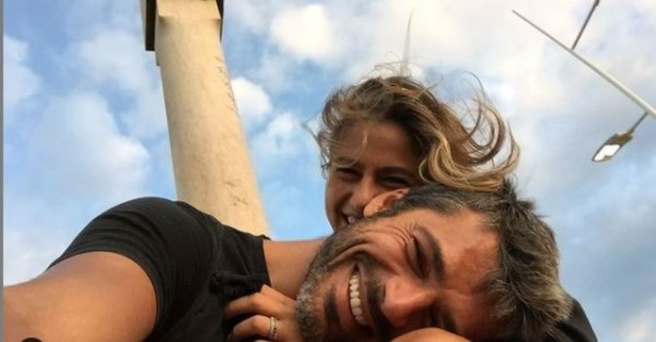 Luca Argentero e Cristina Marino felici