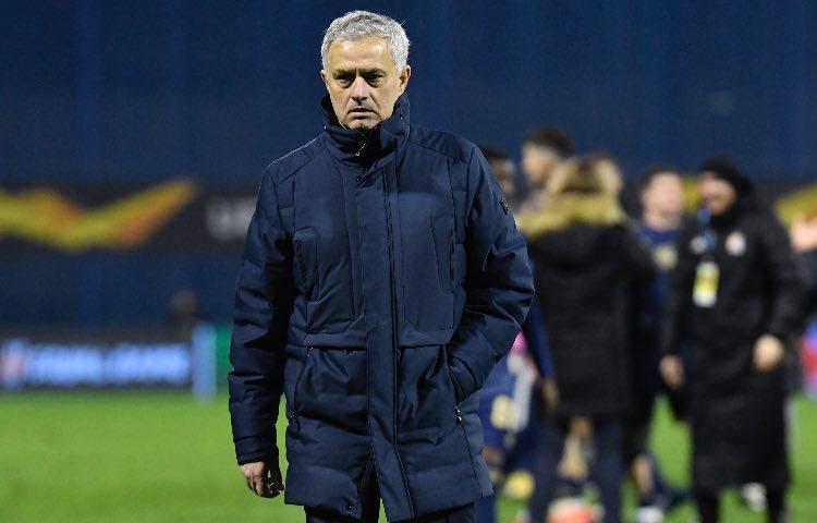 Mourinho, Dinamo Zagabria-Tottenham