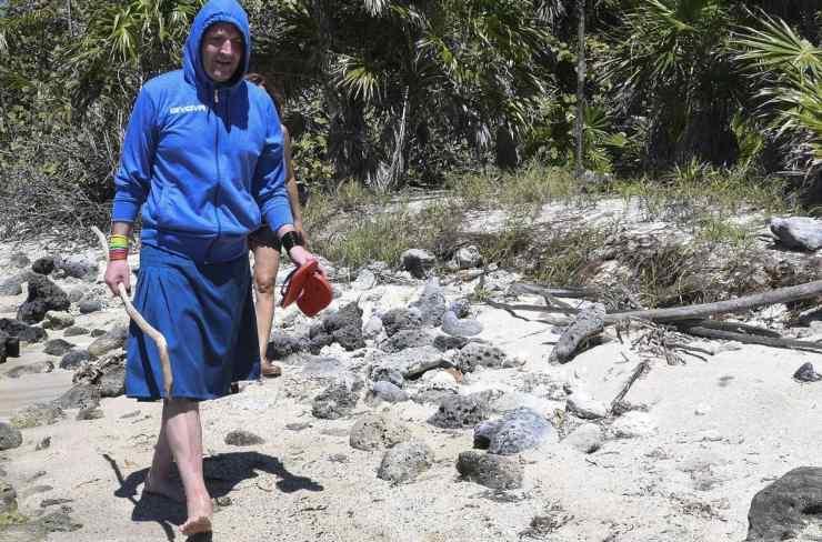 Ubaldo Lanzo all'Isola dei Famosi