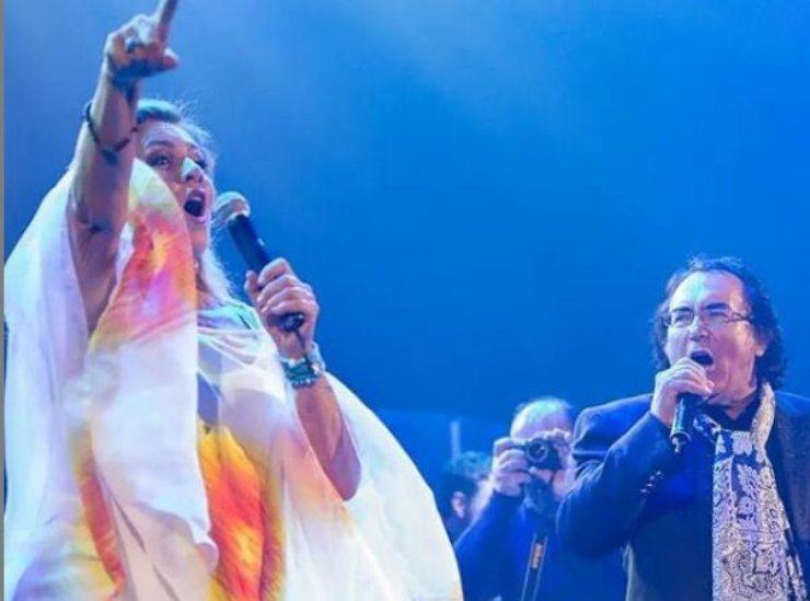 Albano e Romina insieme sul palco