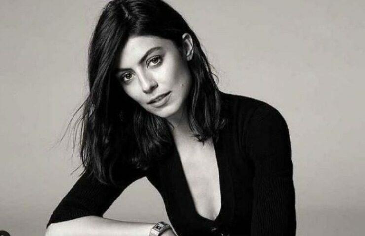 Alessandra in bianco e nero