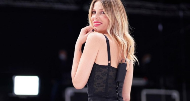 Alessia Marcuzzi Tacchi A Spillo Buonanotte