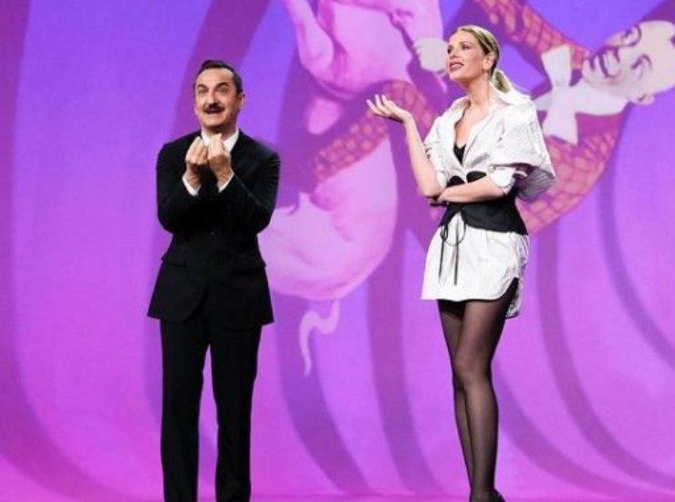 Alessia e Nicola Favino a Le Iene