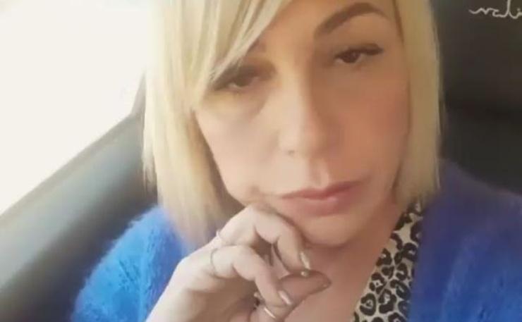 Aurora Tropea in macchina