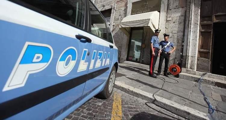 Auto polizia e carabinieri